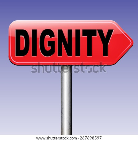 essay about dignity and self respect