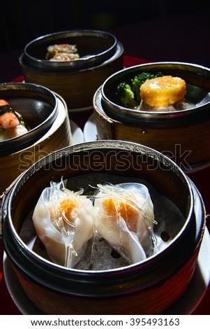 Dim Sum Chinese food - stock photo