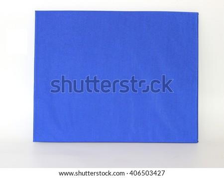 Diploma on white background - stock photo