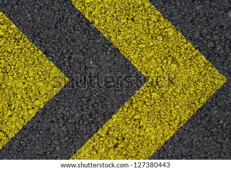 Directional arrows background - stock photo