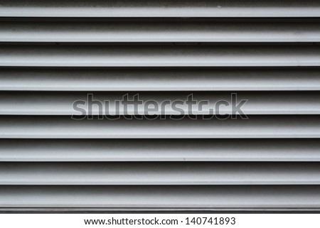 Dirty and dusty ventilation shaft close-up photo - stock photo