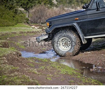 Dirty Car - stock photo