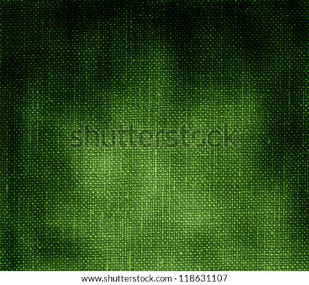 dirty green fabric background - stock photo