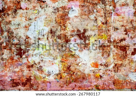 dirty grunge background - stock photo