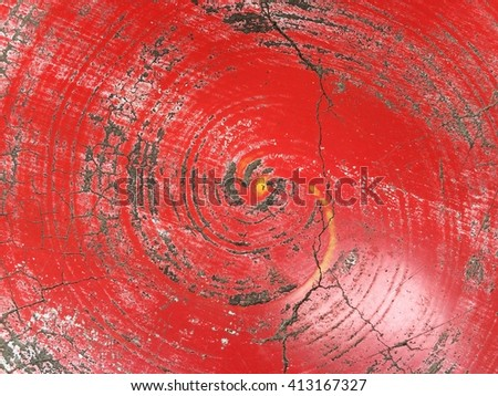 Dirty red top table texture background - stock photo