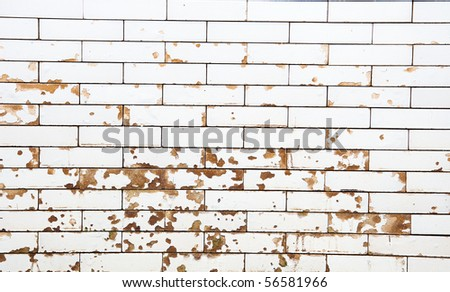 dirty wall marble block - stock photo
