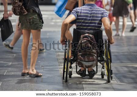 Disability - stock photo
