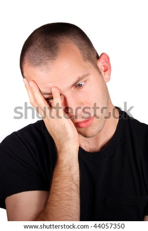 Disappointed Expression - stock photo