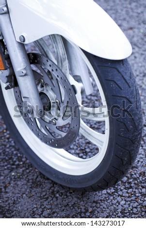 disc brakes - stock photo