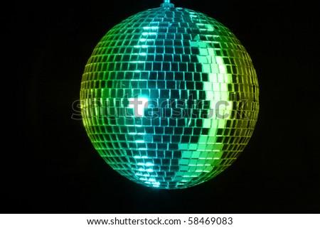 Disco ball at party - stock photo