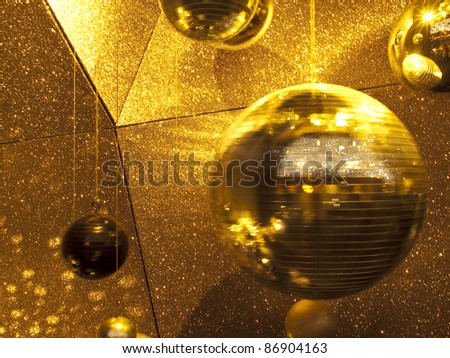disco light - stock photo