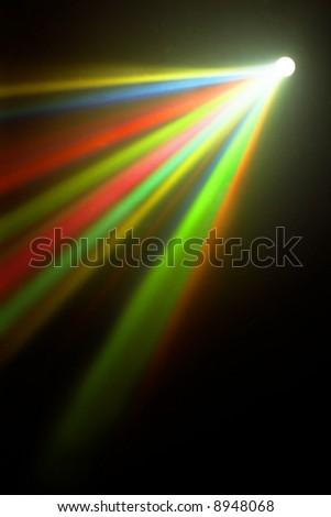 disco lights - stock photo