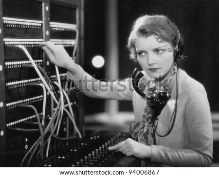 DISCONNECTED - stock photo