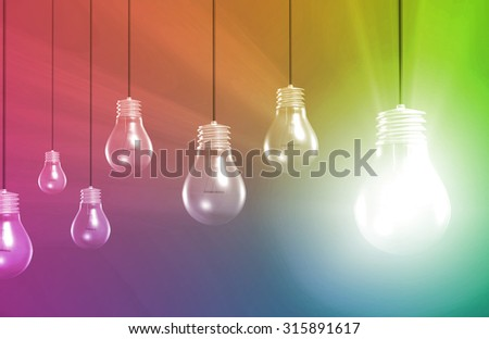 Discovery and Success in Finding a Solution - stock photo