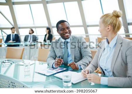 Discussion - stock photo