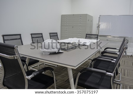 Discussion table. - stock photo
