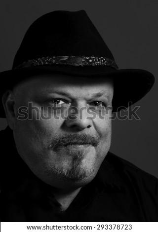 Disgruntled Cowboy - stock photo