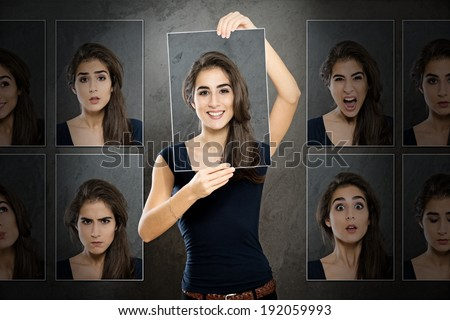 Disguised - stock photo
