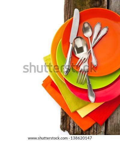 Dish Set - stock photo