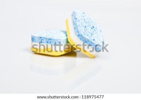 Dishwasher tabs - stock photo