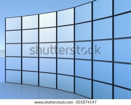 Display - stock photo