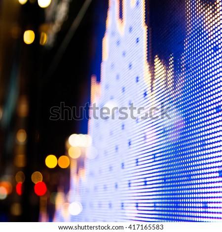 Display of Stock market quotes in Hong Kong. - stock photo