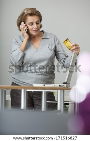 Distance Selling - stock photo