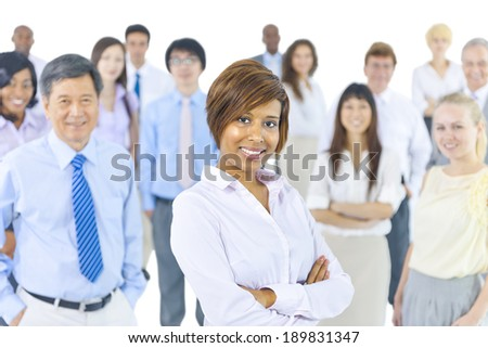 Diverse Business People - stock photo