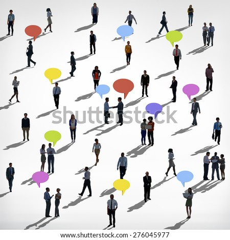 Diverse Ethnic Business Occupation Cheerful Variation Concept - stock photo