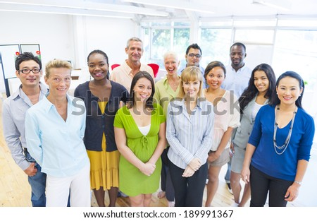 Diverse group of Business People - stock photo