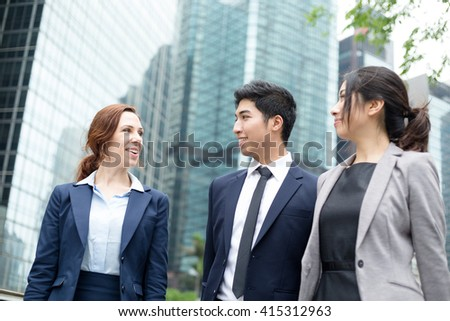 Diversity business people - stock photo