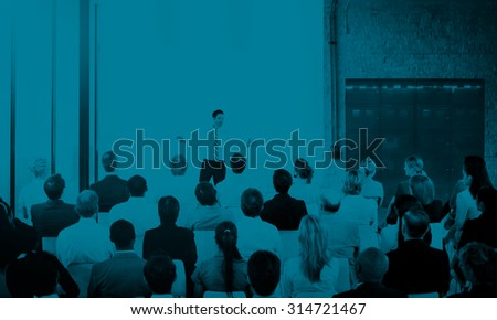Diversity Business People Corporate Team Seminar Concept - stock photo