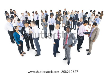 Diversity Business People Teamwork Discussion Meeting Concept  - stock photo