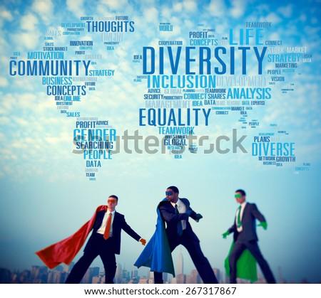 Diversity Community Population Business People Concept - stock photo