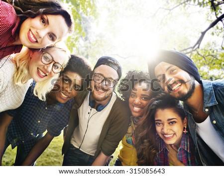 Diversity Friends Friendship Team Community Concept - stock photo