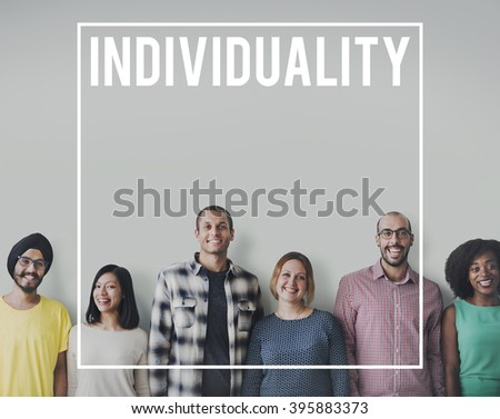 Diversity People Friends Cheerful Team Concept - stock photo