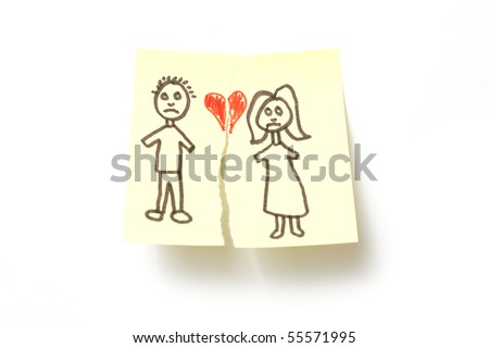 Divorce - stock photo