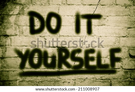 Do It Yourself Concept - stock photo