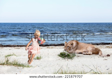 Do not let your kid play everywhere - stock photo