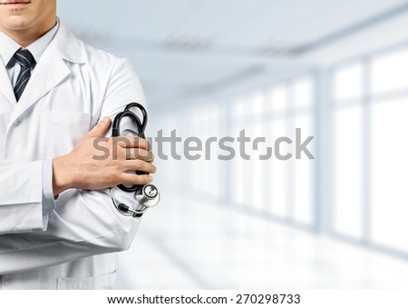 Doctor, patient, medical. - stock photo