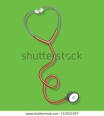 Doctor's stethoscope - stock photo
