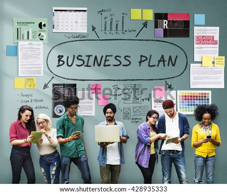 Documents Paperwork Business Strategy Concept - stock photo