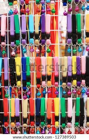 dog collar - stock photo