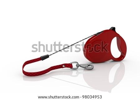Dog leash - stock photo