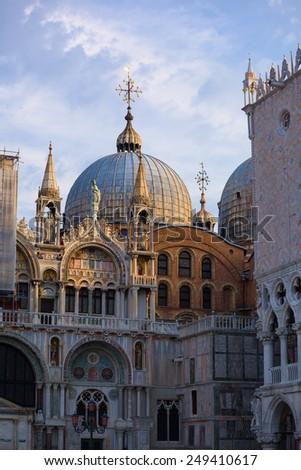 Doge's palace. Venice. Italy.  - stock photo