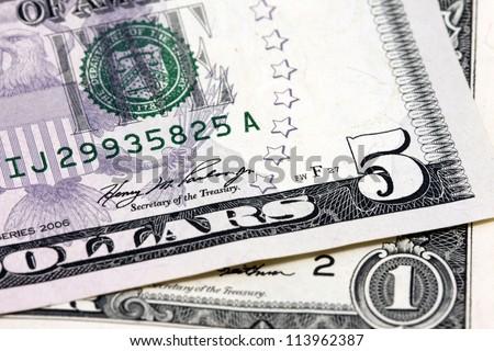 dollar bill concept - stock photo