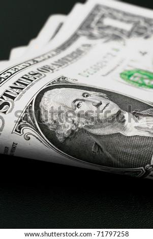 Dollar bills - stock photo