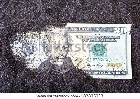 Dollar Note - stock photo