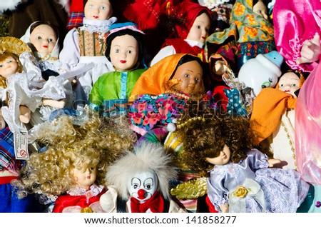 Dolls - stock photo
