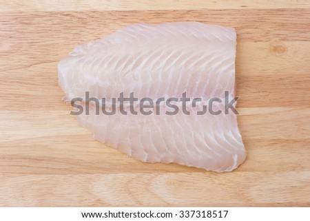 Dolly fresh fish - stock photo